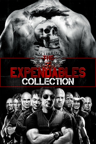 The Expendables Collection (Vudu HDX) - Multiple Options Available