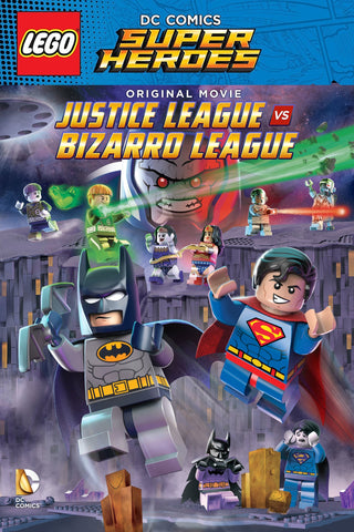 Lego DC Comics Super Heroes: Justice League vs. Bizarro League (UV HDX)