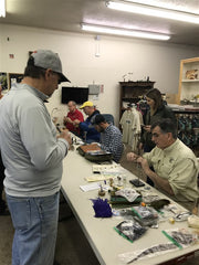 Calavera Fly Fishers Fly Tying Social at The Trout Spot