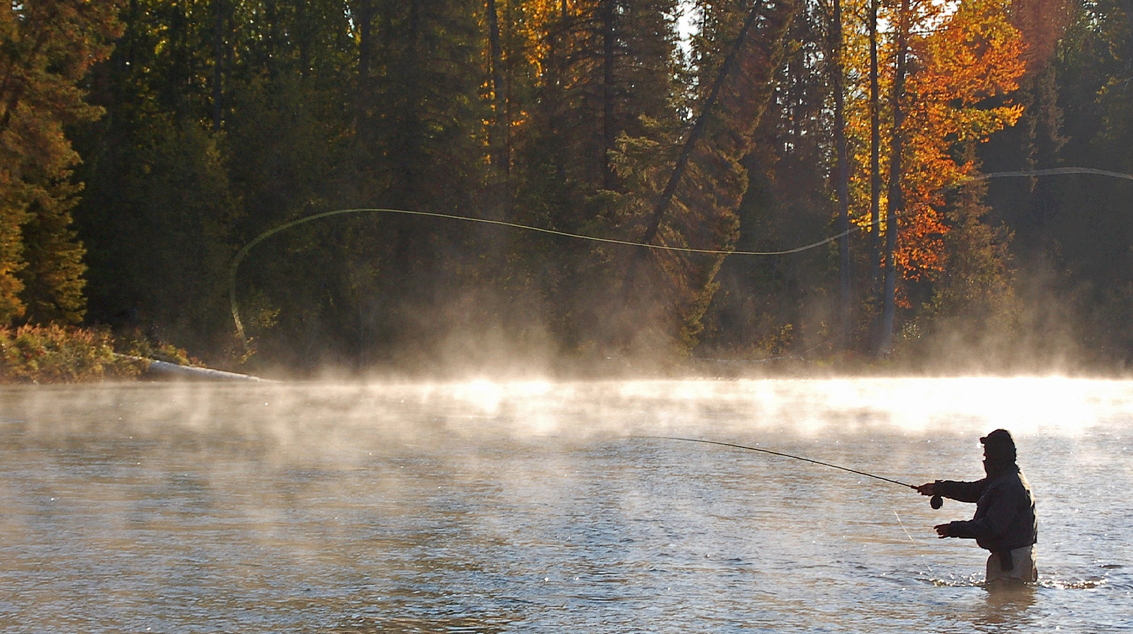 Fly Fishing on the Maurice River British Columbia