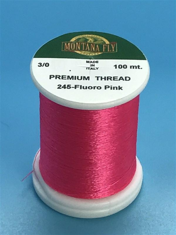 Montana Fly Company Premium Tying Thread White 8//0