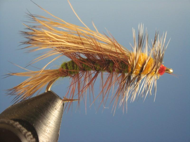 Flybox FK-20 Pearl Hackle 20mm Fly Tying Material For Trout Lures Trout Zonkers