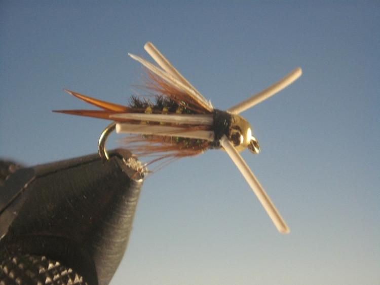 Tungsten Nymphhead Prince Nymph Rubber Legs - The Trout Spot