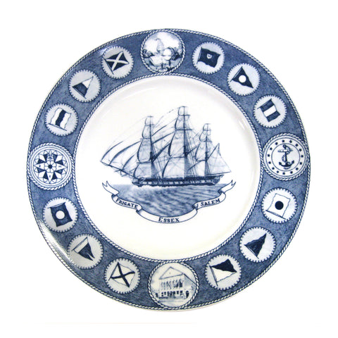Ship Plates Set of 4