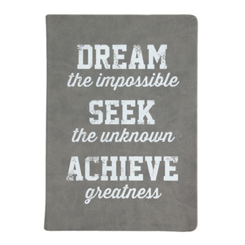 Dream, Seek, Achieve Notebook