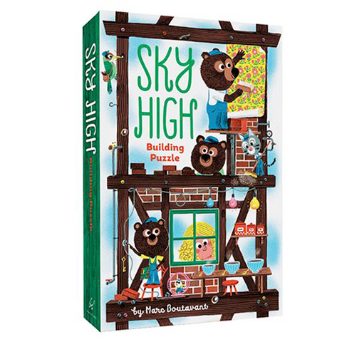 Sky High Building Puzzle for Kids