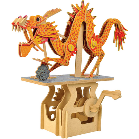 Dragon on the Cloud Automata Building Kit