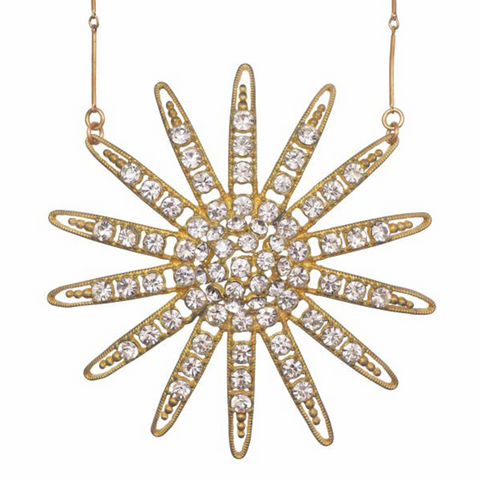 Inessa Sunburst Necklace