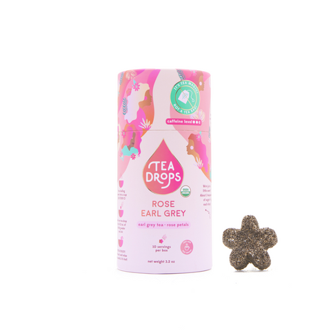 Rose Early Grey Tea Drops