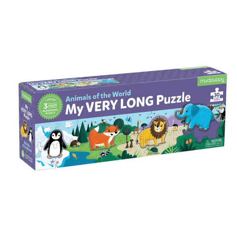 My Very Long Animals of the World Puzzle for Kids