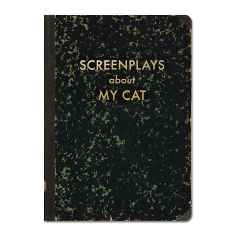 Journal Screenplays About My Cat