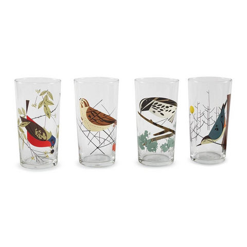 Charley Harper Glass Set