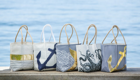 Anchor Tote Bag - Recycled Sail Cloth