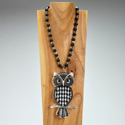 Iris Apfel Exclusive: Owl Locket Necklace