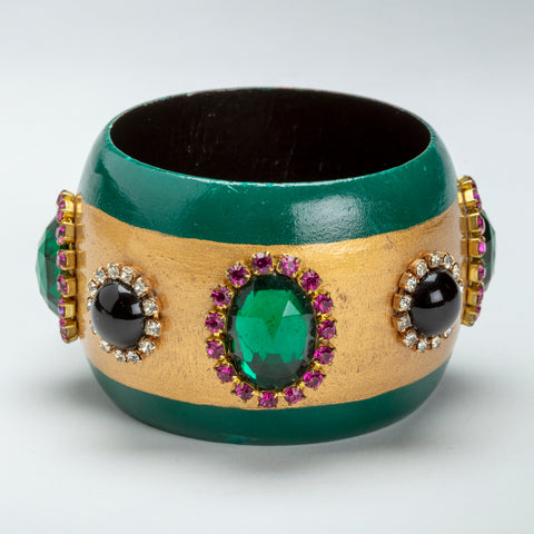 Iris Apfel Exclusive: Brett Lewis Wood Bangle
