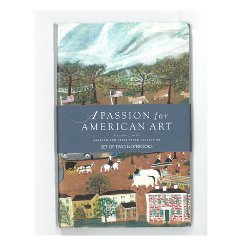 Set of 2 Notebooks: A Passion for American Art