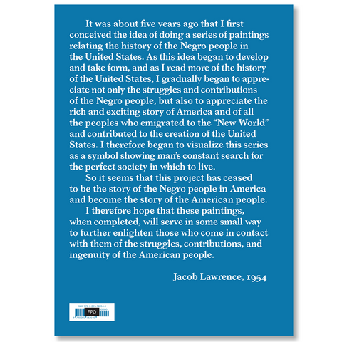 Jacob Lawrence: The American Struggle PLUS Free copy of Piece by Piece