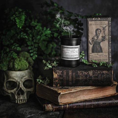 NOIR Apothecary Candle | Wisdom + Wonder