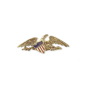 McIntire Eagle Pin - Gold Finish