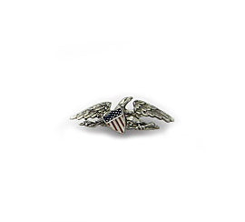 McIntire Lapel Pin - Silver Finish