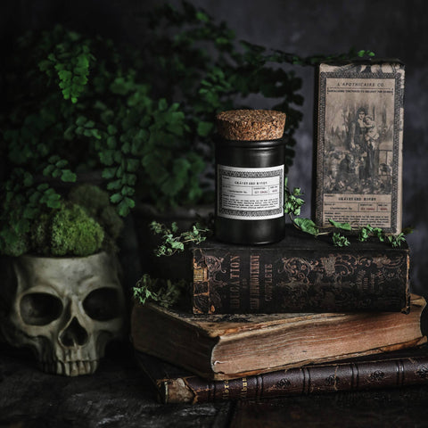 NOIR Apothecary Candle | Graveyard Roses