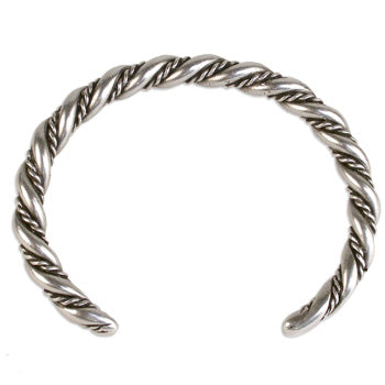Viking Twisted Rope Cuff