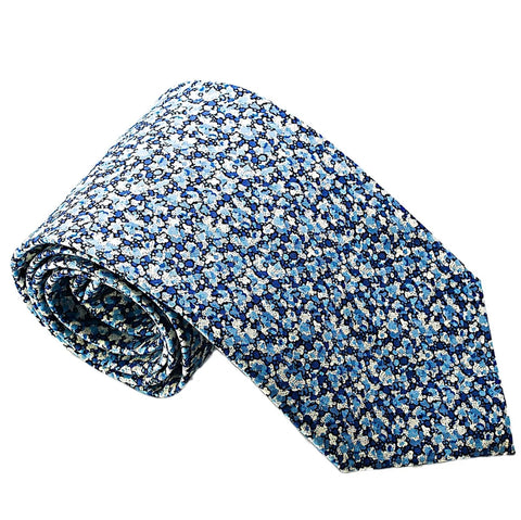 TIE MAYFAIR BL FLORAL