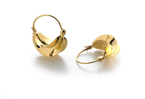 Fulani Hoop Earring - Gold finish
