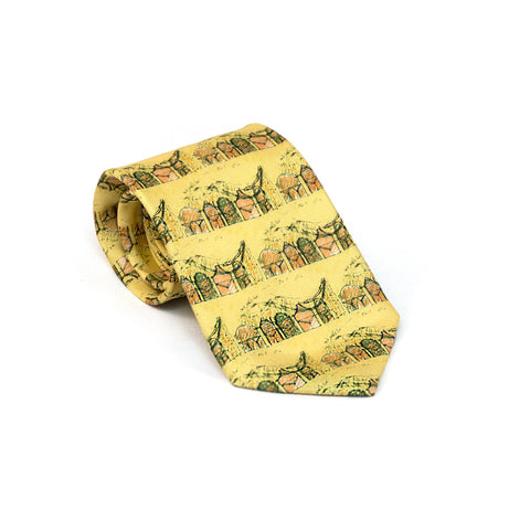 PEM Galleries Tie in Yellow