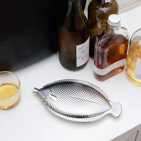 Large Fish Flask