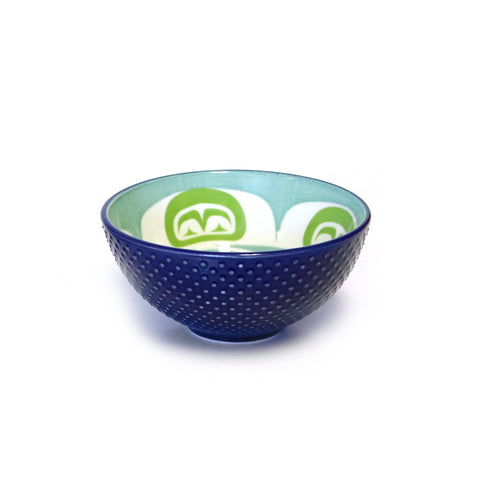 Navy Moon Art Bowl by Simone Diamond - Multiple Sizes