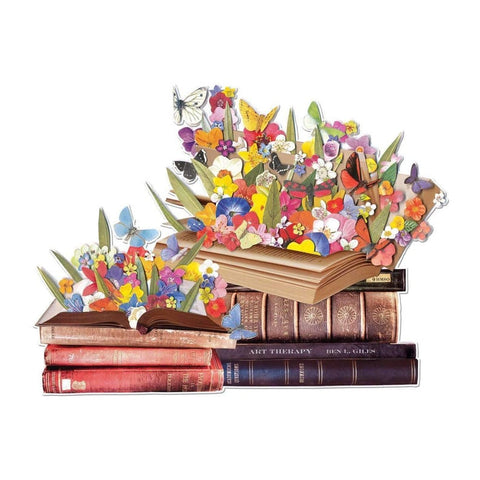 Blooming Books Shaped Puzzle- 750 Pieces