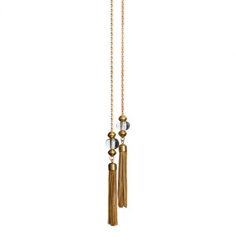 Bottle Caura Lariat Necklace