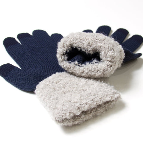 Teddy Plush Tech Gloves - Unisex