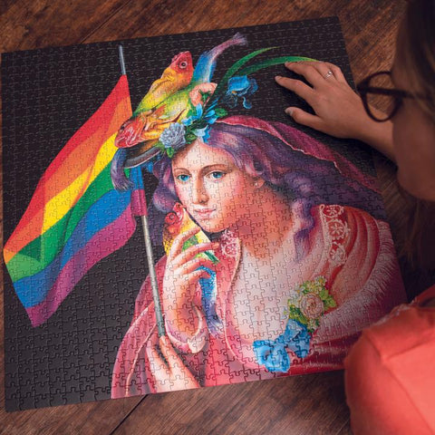 Liberty Rainbow - 1000 Piece Puzzle