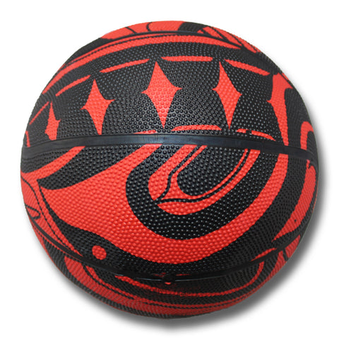 Trickster Beast Collective Basketball Red and Black