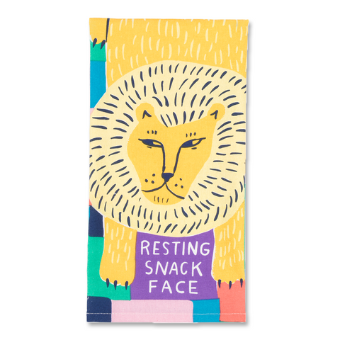 Resting Snack Face Dish Towel