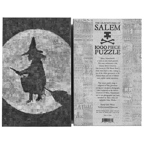 The Gravestones of Salem Puzzle - 1000 Pieces