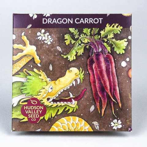 Dragon Carrot Seeds - Art Seed Packs