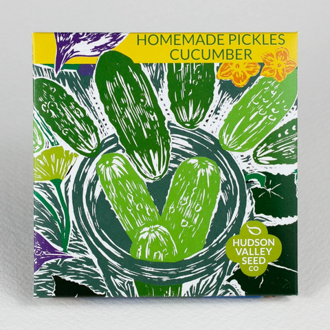 Pickling Cucumber Seeds - Art Seed Packs