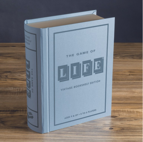 The Game of Life Vintage Bookshelf Edition