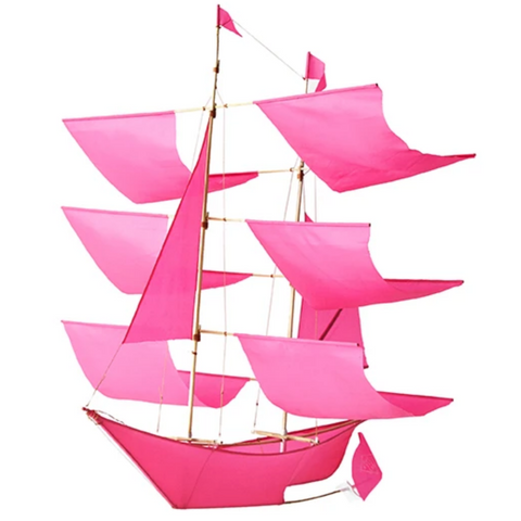 Sailing Ship Kite - Pink