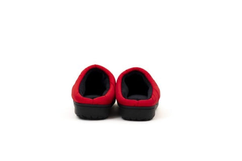 SUBU Indoor Outdoor Insulated Slippers - Red