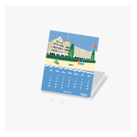 2020 North Shore Desktop Calendar