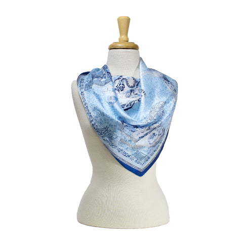 Chinese Ceramics Scarf