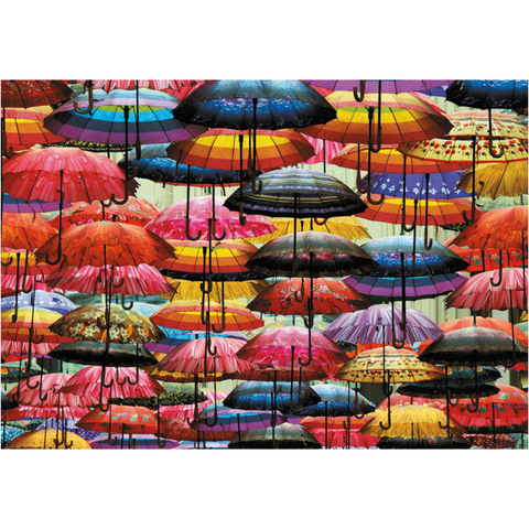 Umbrellas Puzzle - 1000 Pieces
