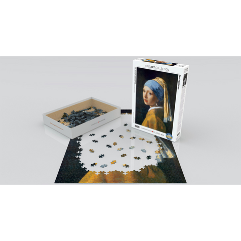 Girl with the Pearl Earring Puzzle - 1000 Pieces