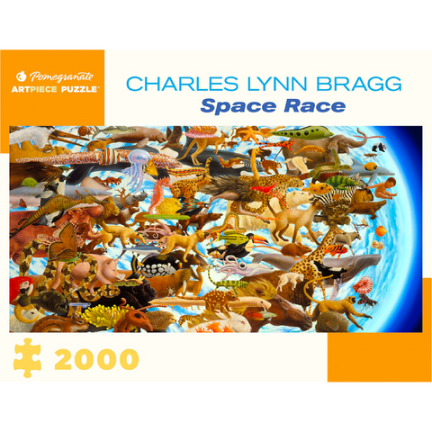 Charles Lynn Bragg: Space Race Puzzle - 2000 Pieces