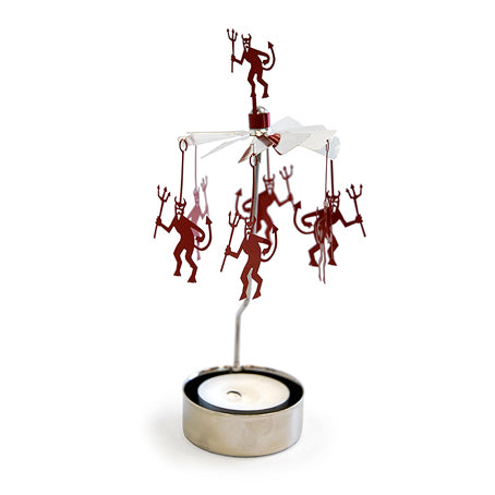 Dancing Devils Rotary Tea Light