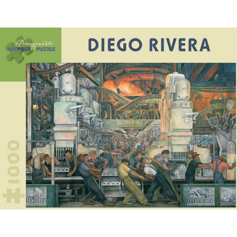 Diego Rivera: Detroit Industry Puzzle - 1000 Pieces